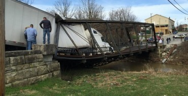 Semi Driver Collapses Historic Bridge Because She Doesn't Know How Many Pounds a Ton Is