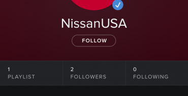Celebrate the Nissan LEAF with Spotify