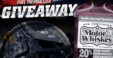 Enter Our Giveaway for Motor Whiskey, the Engine-Boosting Fuel Thermalizer