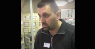 Toronto Honda Dealership Employee Loses Hearing Mid-Conversation [VIDEO]