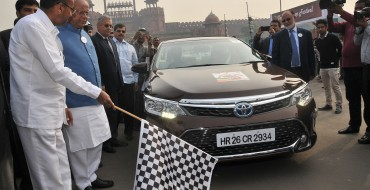 Toyota Promotes Hybrid Cars in Indian Market