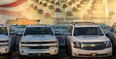 Chevy Supplies Silverados and Suburbans for Wreaths Across America