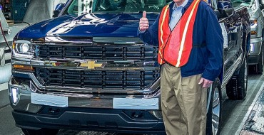 2016 Chevrolet Silverado is Fort Wayne Assembly's 7 Millionth Truck