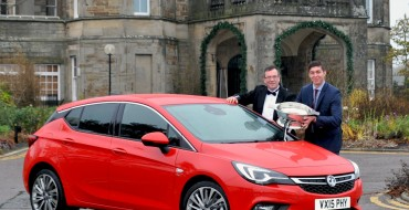 Vauxhall Cleans Up at 2015 Scottish Car of the Year Awards