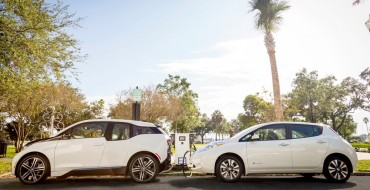 Nissan and BMW Partner for EV Charging