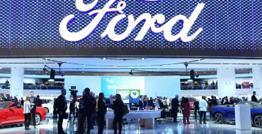 Ford's NAIAS Display Has All of the LEDs, a Buncha Moving Parts
