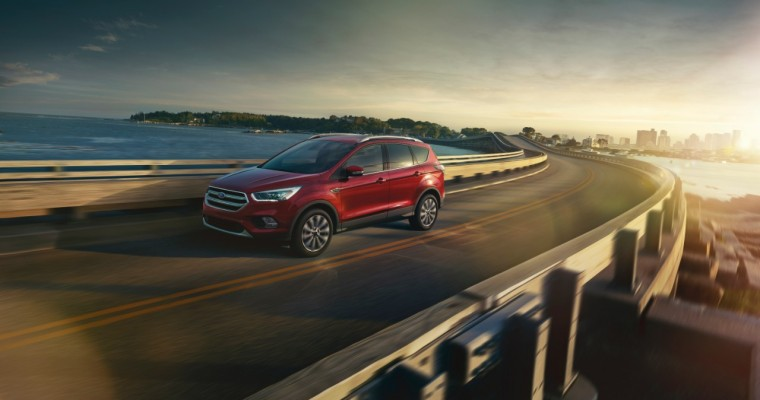 2017 Ford Escape Being Offered with Windshield Wiper De-Icer