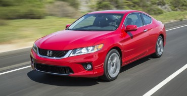 2015 Honda Accord Coupe Overview