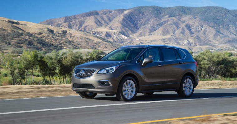 Buick Nearly Doubles Envision Sales in July, While Overall Sales Fall 30.5%