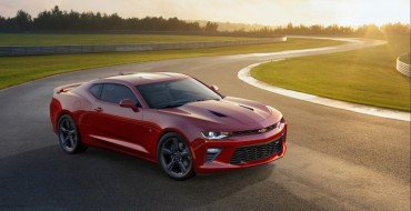 Motor Authority Nominates 2016 Chevy Camaro SS for its Best Car to Buy Award