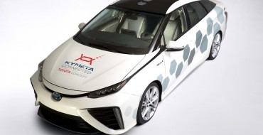 Toyota Shows Off Mirai Satellite Communications Research Vehicle in Detroit