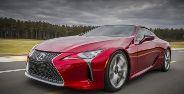 Lexus LC 500 Roars Onto TV Screens