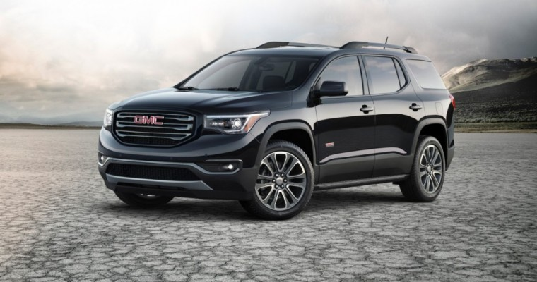 GMC Debuts Mid-Size 2017 Acadia at the North American International Auto Show