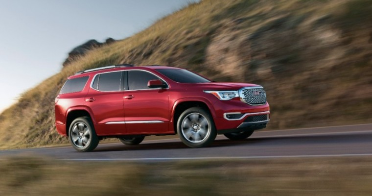 Smaller 2017 GMC Acadia Gets Lower Price