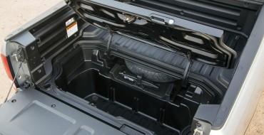 2017 Honda Ridgeline Debuts in Detroit with Bigger, Noisier Pickup Bed