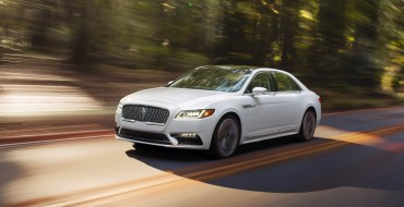 2017 Lincoln Continental Scores TOP SAFETY PICK+ Honors from IIHS