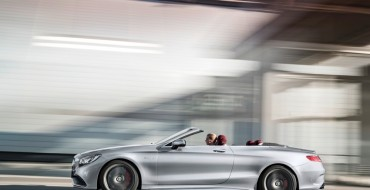 Mercedes-AMG S63 4MATIC Cabriolet 'Edition 130' Debuts in Detroit