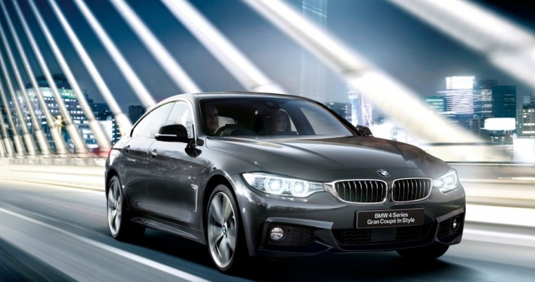 5 Series and 4 Series Sedans Find Success as BMW's Sales Fall 3.4% in October