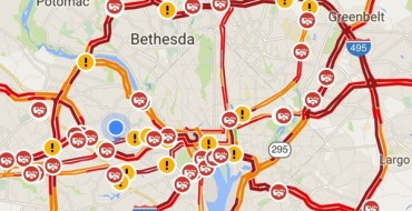Washington, DC Roads Lock Up Ahead of Storm