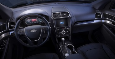 2016 Ford Explorer Platinum Being Offered with All-Ebony Black Interior