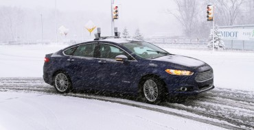 Ford Breaks New Ground With Winter-Weather Autonomous Testing
