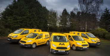 AA Adds 550 Ford Transit Customs and Couriers to Fleet