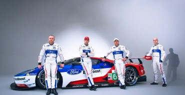 Driver Lineup Announced for Ford GT's 2016 WEC Campaign