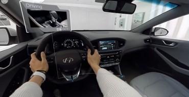 Hyundai Reveals Interactive, 360° Virtual Look Inside 2017 IONIQ Hybrid