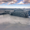 Lake Erie 'Ice Car' Finally Freed from Frozen Shell