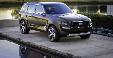 Catch a Glimpse of Kia's Telluride Concept in the Wild