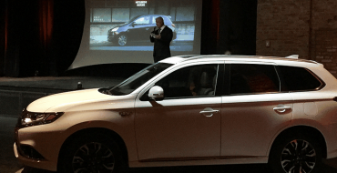 Mitsubishi Gives Sneak Peek of Plug-In Hybrid Outlander Before Official Debut
