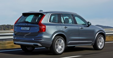 2016 Volvo XC90 SUV Earns Two Best In Class Awards from Euro NCAP