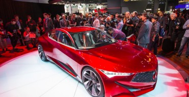 [PHOTOS] The Acura Precision Concept Dazzles the Crowd at the Detroit Auto Show