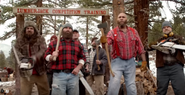 The New Toyota RAV4 Hybrid Commercial Combines Lumberjacks with Actor from <em>X-Men</em>