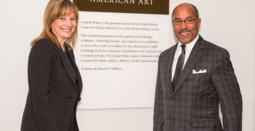 Ed Welburn Honored at GM Center for African American Arts Dedication