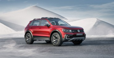 Volkswagen Rolls Out Tiguan GTE Active Concept