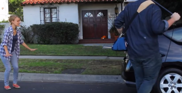 Comedians Create Film Shot Entirely With Toyota Prius Backup Camera