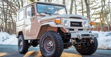 Bid on This Classic 1978 Toyota FJ40 Land Cruiser Right Now