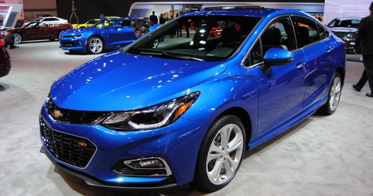 Full 2016 Chevy Cruze EPA Fuel Economy Ratings Revealed