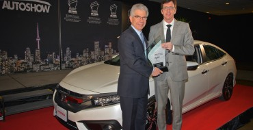 2016 Honda Civic Named AJAC Canadian Car of the Year