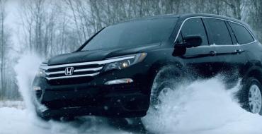 2016 Honda Pilot Shows Off AWD Capability in Baudette, Minnesota