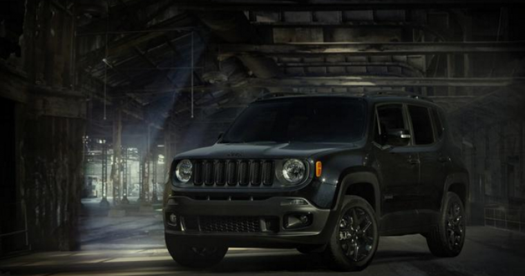Jeep Renegade Dawn of Justice Edition Now Available in the UK