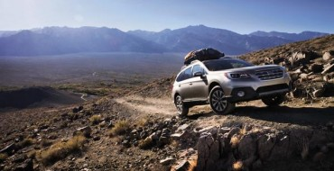 2016 Subaru Outback Named a Best Family Car of 2016