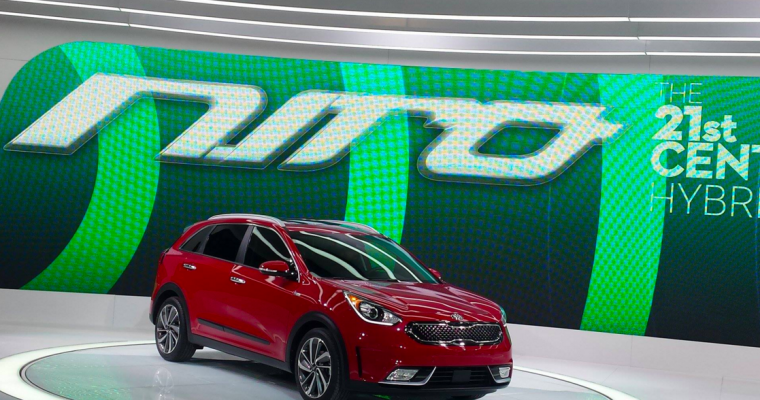 Kia Set to Show Off Niro Crossover SUV at Beijing Auto Show