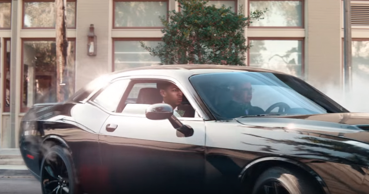 Watch Anthony Davis Drift into Savings in a Dodge Challenger