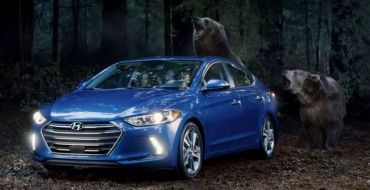 [VIDEO] Terrified Hikers Outrun Vegan Bears, Advertise 2017 Hyundai Elantra for Super Bowl