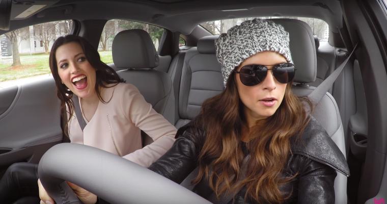 Danica Patrick Pilots a Chevy Malibu as an Undercover Lyft Driver in Charlotte [VIDEO]