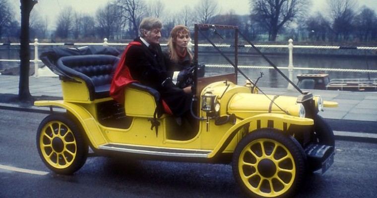 Meet Bessie, Doctor Who's Hi-Tech, Yellow Edwardian Roadster