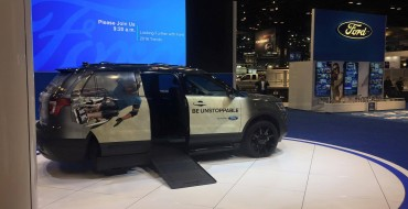 Ford Reveals BraunAbility MXV Wheelchair-Accessible SUV in Chicago