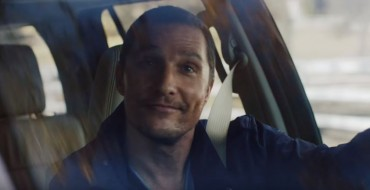Matthew McConaughey Keeps It Goofy (with Dogs) in Lincoln Navigator Ad